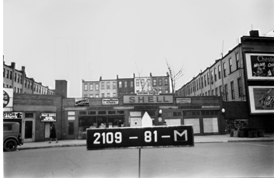 Dorsma Garage, St. Nicholas Avenue, between West 160th and 162nd Streets, Current site of C-Town