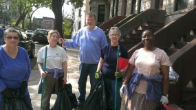 MJNA Clean up day October 18,2014