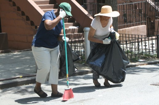 MJNA - Day of Service, Pat and Jane